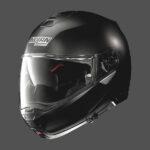 Nolan N100 hjálmur matt svartur - flatt black