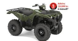 Yamaha Grizzly 700 EPS 2021 grænt