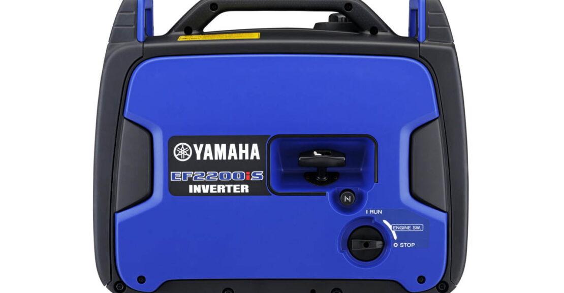 Yamaha ferðarafstöð rafstöð EF2200iS fjórgengis mótor hljóðlát rafstöð