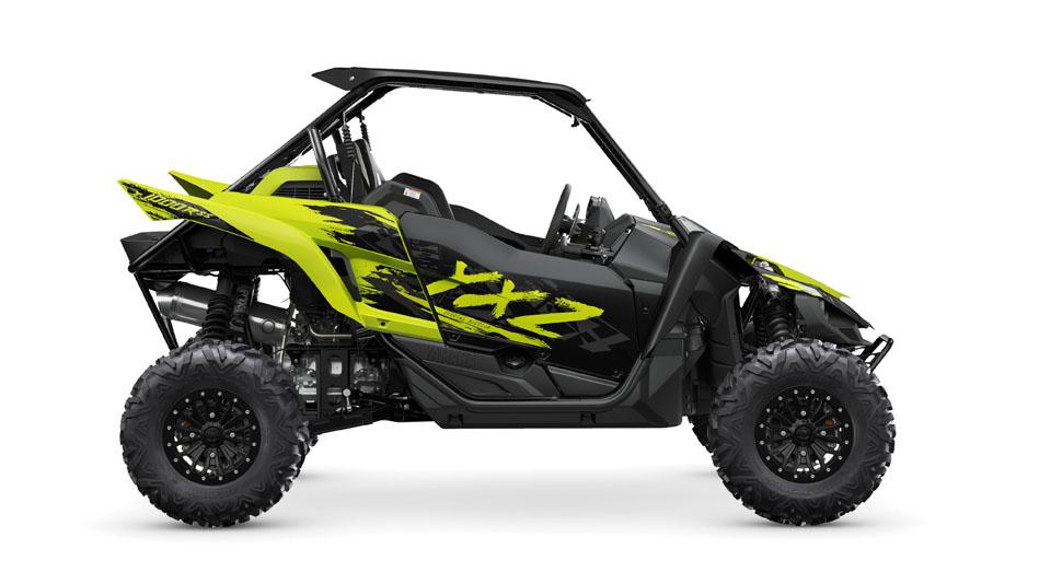 Yamaha YXZ1000R SS SE buggy 2021 árgerð grár og gulur